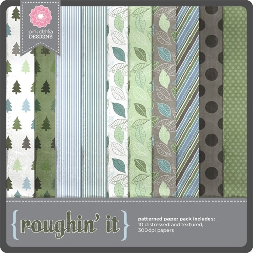 Roughin' It - Patterned Papers