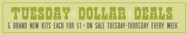 Tuesday Dollar Deals @ DHD